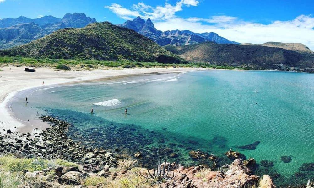 Playa Juncalito, Baja California Sur Foto: oppventures | Instagram