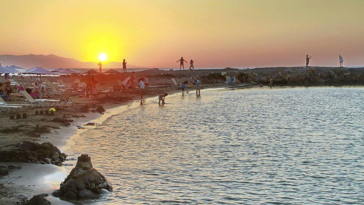Playa Kalia en Israel.Exclusiv travel