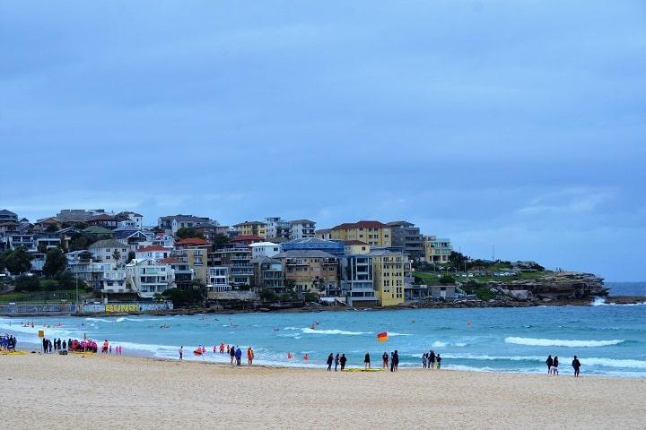 Se ve tranquila la Playa de Bondi en Sydney, ¿No? Foto: Eduardo Arostegui