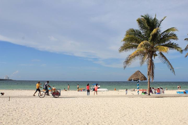Playa de Puerto Progreso Foto: pixabay