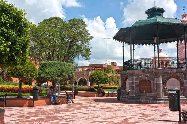 Plaza Miguel y Hidalgo Foto: De paseo en Querétaro
