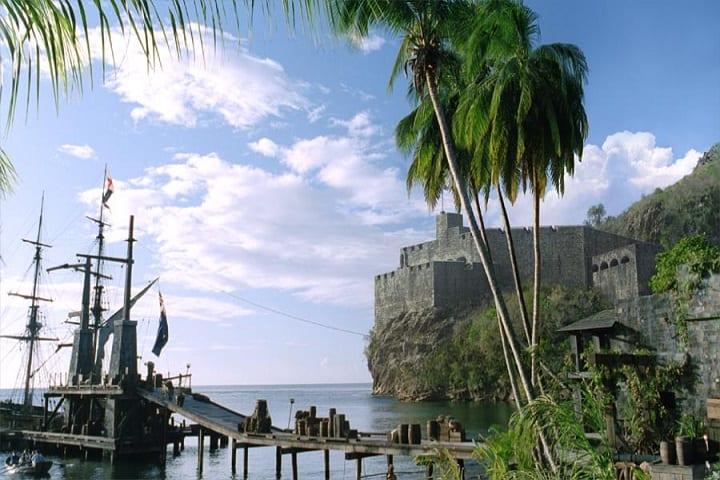 ¿Qué te parece esta locación de Piratas del Caribe? Foto: POC WIKI