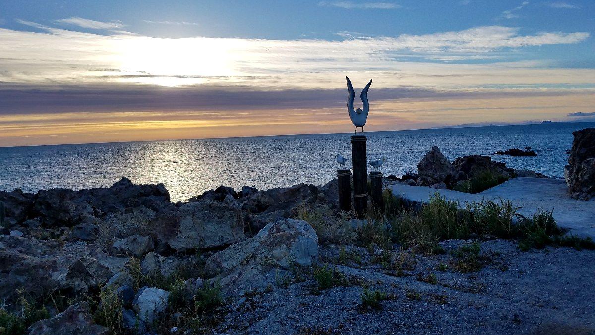 Qué hacer en Ensenada, BC. Playa Puertecitos. Foto Mike Klderon Dkdos