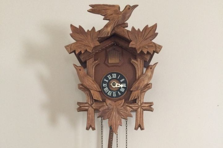 Asegurate de llevarte un reloj cucú en tu próxima visita a Suiza. Foto: Archivo