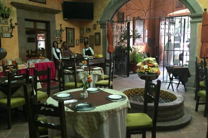 Restaurante Las Monjas Clarisas Foto: Amor x México1 | Twitter