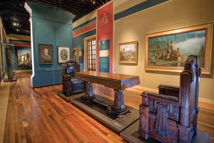 ¿Qué te parece esta exhibición del Museo? Foto: Turismo en Querétaro