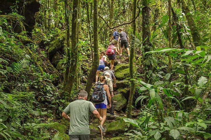Saca la fuerza interior y recorre todo el parque que rodea al Volcán Arenal. Foto: Revista Viajes
