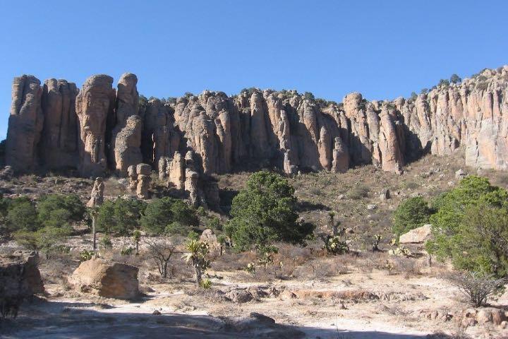 Sierra de Órganos en Zacatecas. Foto: Flickr