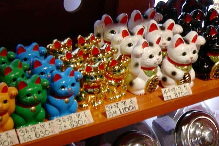 Souvenir Maneki-Neko Foto: Petbucket