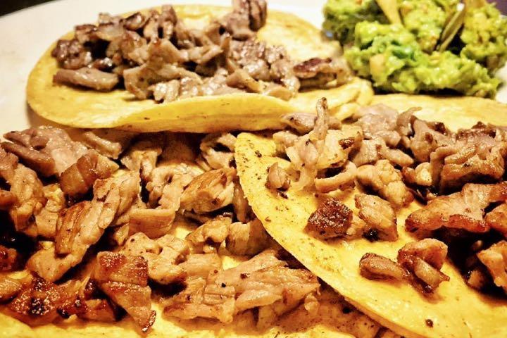 Tacos de arrachera, ¿Sabes dónde comerlos en Tequisquiapan? Foto: Restaurante El Pecado | Facebook