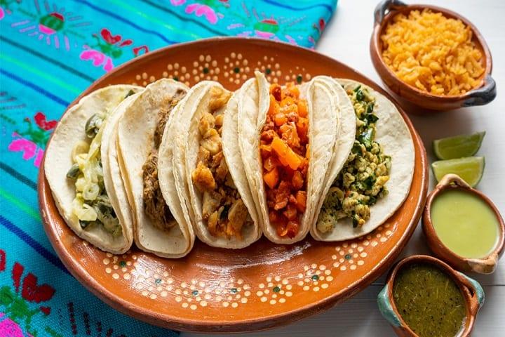 Tacos de guisado. Foto: Cocina fácil
