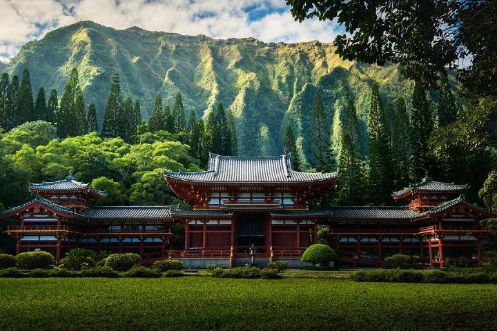 Conoce el Templo japonés Byodo, un lugar de filmación de la serie Lost. Foto: tomparsons930