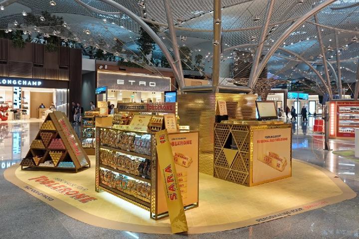 Tienda Toblerone en los aeropuertos del mundo. Foto: Contracuardo