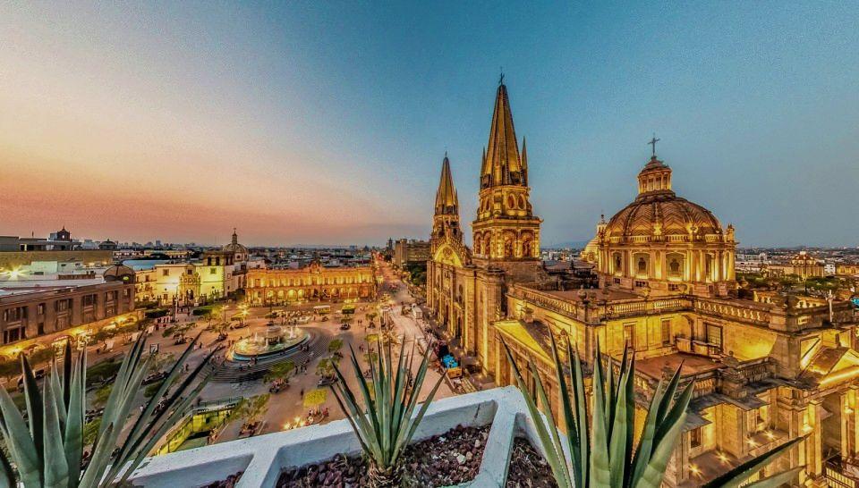 Ciudades en México Foto: Catedral de Guadalajara