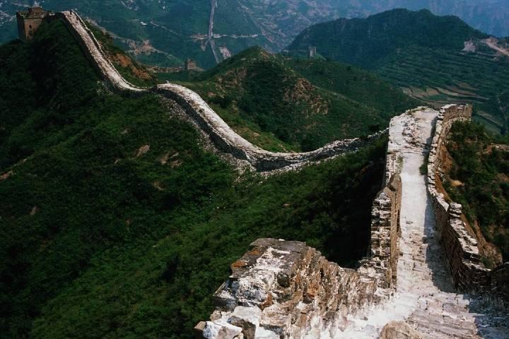 Toma 100 días recorrer la Muralla China en su totalidad. Foto: Sara Apple Gren