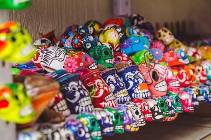 Tradicional Festival de Vida y Muerte de Xcaret. Calaveras. Imagen. Gadiel Lazcano