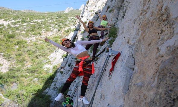 Una aventura en Parque La Huasteca es espectacular. Foto: Archivo
