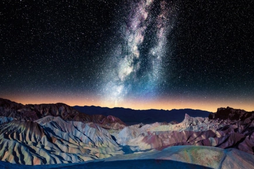 Excelente vista desde la Montaña de colores Foto Matt Anderson
