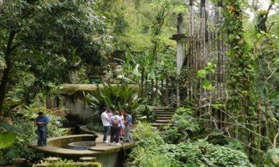 Una experiencia sanitaria ideal para visitar el Jardín Escultórico Edward James Foto: Mathew Holmes