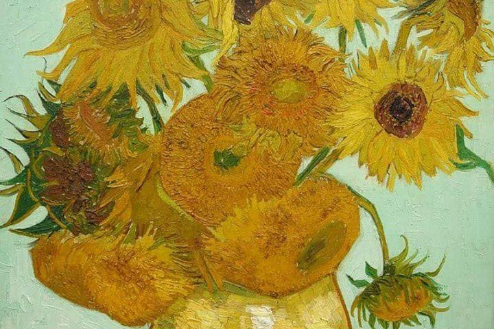 """La obra de Van Gogh """"Los Girasoles"""" están también aquí. Foto: Jan Halas"""