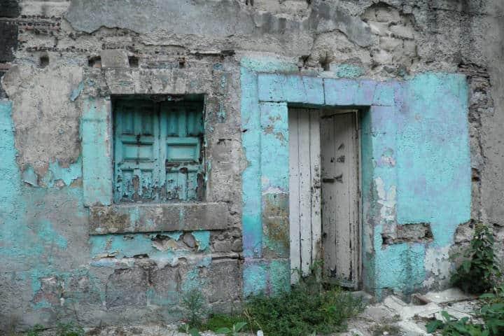 Vestigios de la casa más antigua - Foto distrito Merced