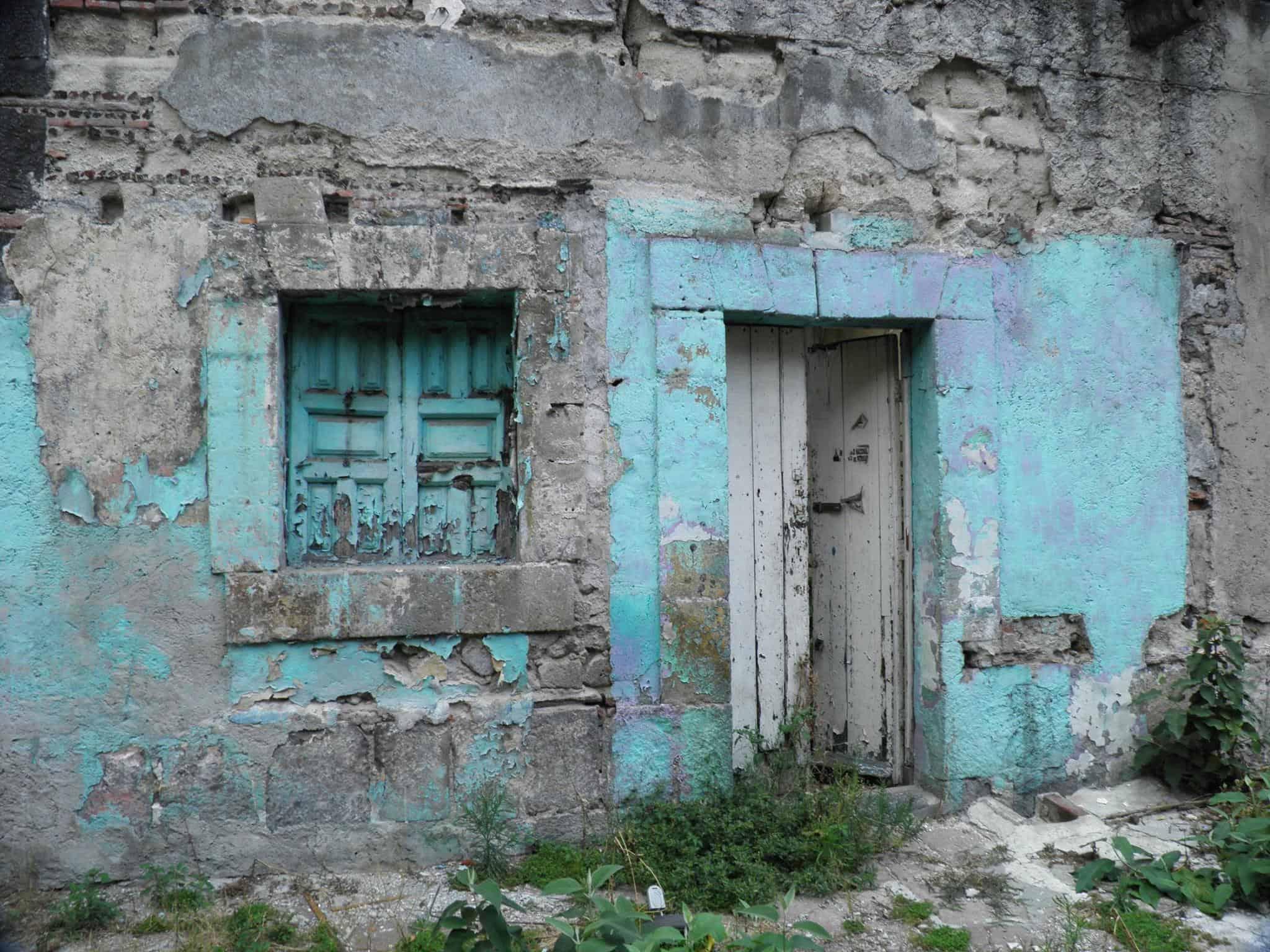 Vestigios de la casa más antigua – Foto distrito Merced