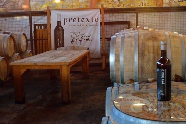 Vino Pretexto Foto: Viñedos Azteca | Facebook