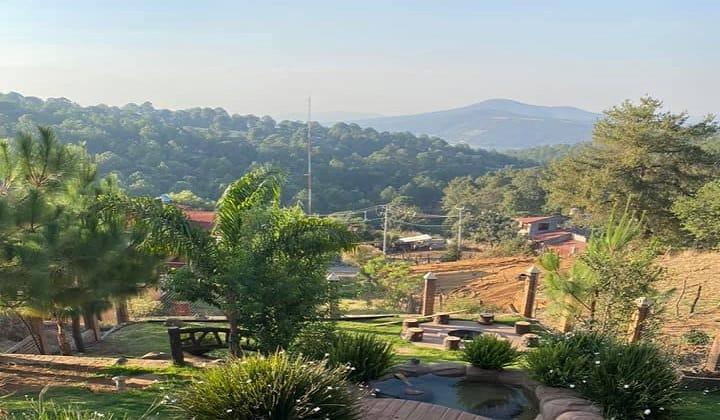 ¿Qué te parece esta hermosa vista que te ofrecen las Cabañas de Mazamitla? Foto: Cabañas Mazamitla