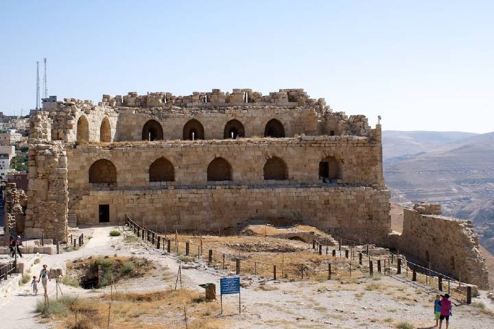 Vista del impresionante castillo Karak. Foto: Diego Muñoz