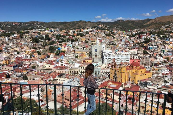 Vista panorámica de Guanajuato Foto: Sin mapa