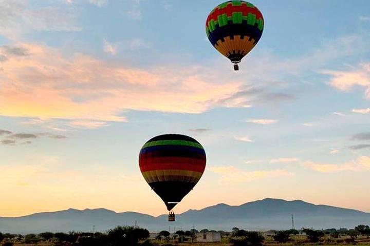 Vuela en globo aerostático en Tequisquiapan. Foto: vuelaenglobo