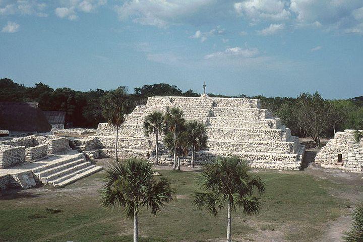 Zona arqueológica maya Xcambó, lo primero de la cultura Maya. Yucatán. Imagen. HJPD