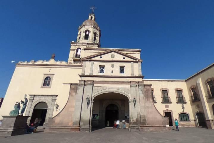 Convento de la Cruz, Querétaro Foto: Transportamex