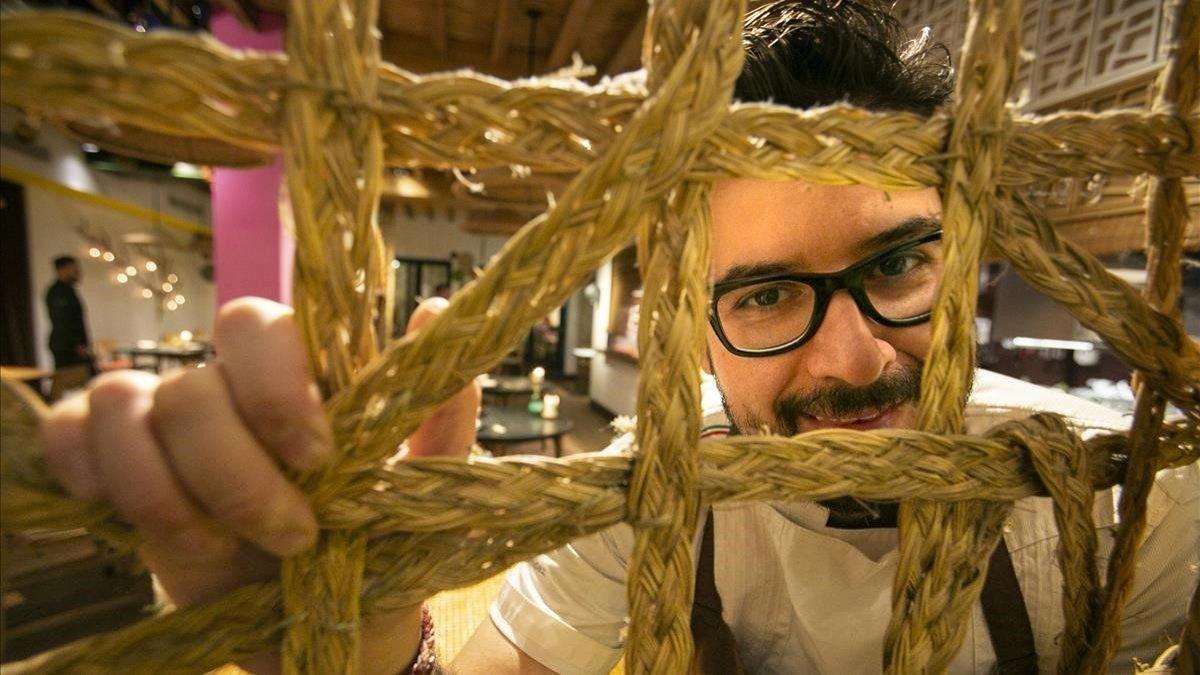 El periódico Foto: Hoja santa el restaurante con estrella michelin