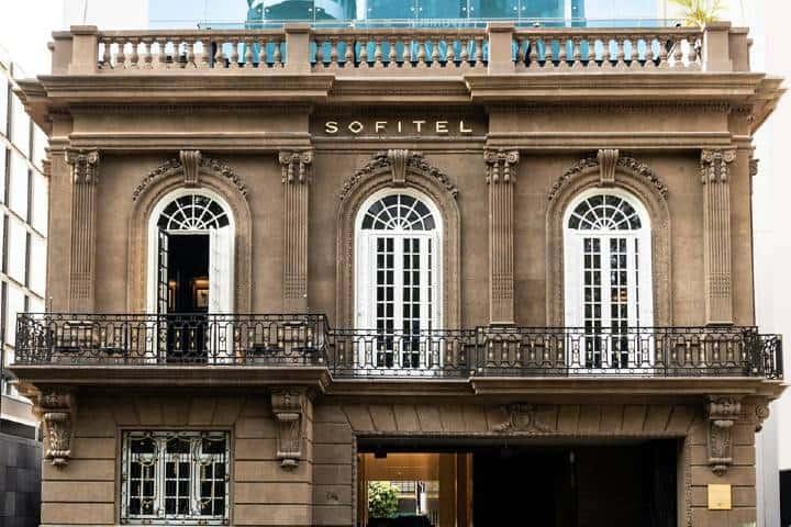 Fachada del hotel Sofitel Foto: Sofitel Mexico City Reforma