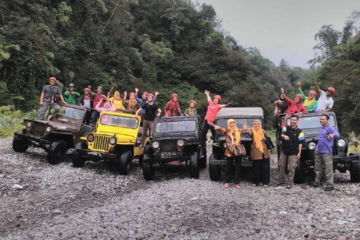 Recorridos en Jeep Foto: Merapi Jeep
