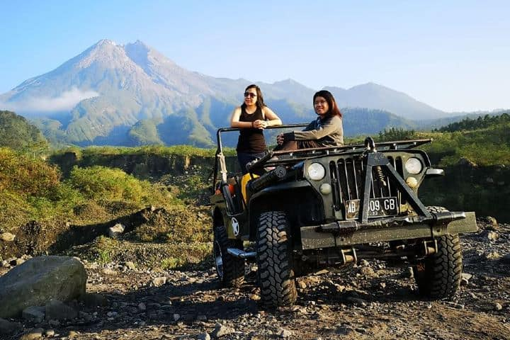 Paseo en Jeep Foto: yogykarta driver