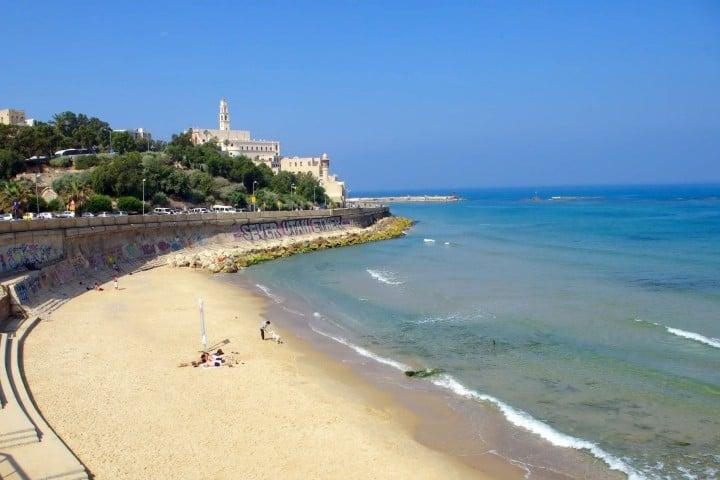 Kalia Beach. Foto: Tourist Israel
