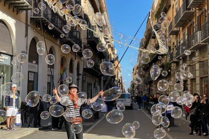 Mimo en Palermo durante mi viaje a Europa Foto: Ximena Martínez