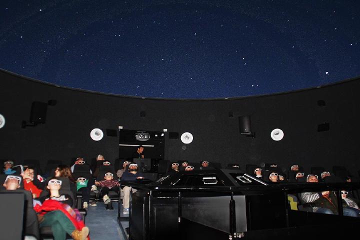 Observatorios del parque. Foto: Parque Astronómico Montsec