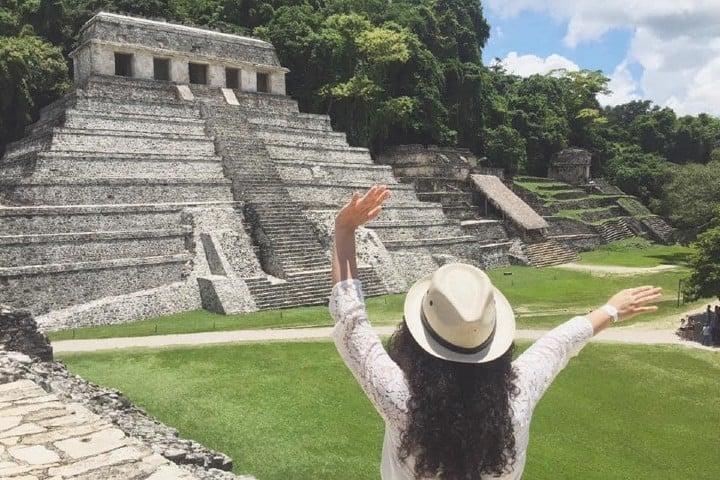 Palenque es un destino popular en Chiapas foto-Alondra-Chaparro