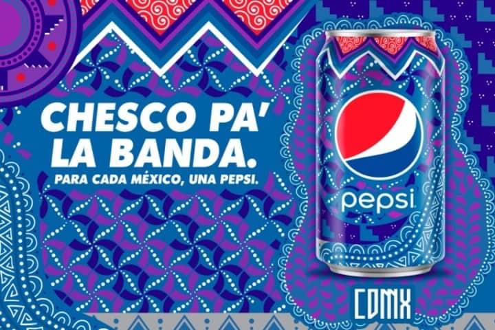La campaña de Pepsi en México muestra éstas latas, ¡Qué opinas de la lata de CDMX! Foto: Archivo