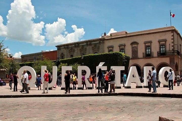Así de bonito se ve el Centro Histórico de Querétaro. Foto: Hay Festival
