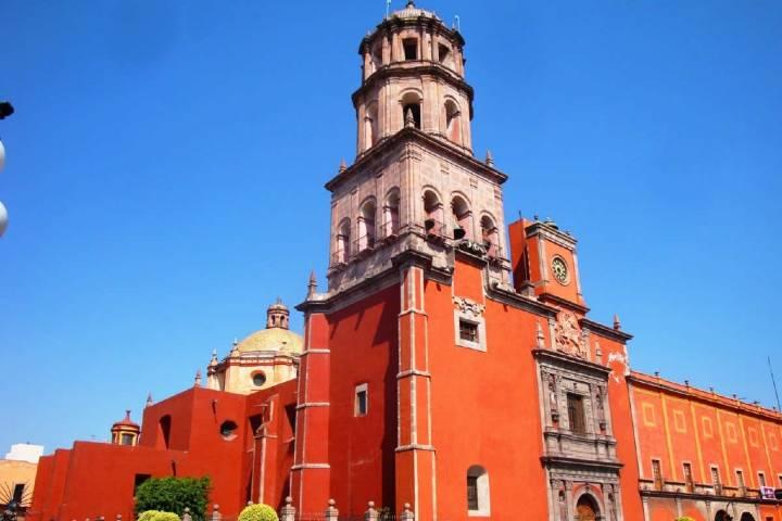 Convento Franciscano de Santiago, Querétaro Foto: TuriMéxico