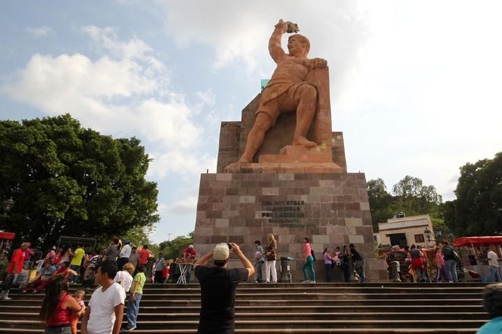 Visita el Monumento al Pípila Foto: Ciudades en México