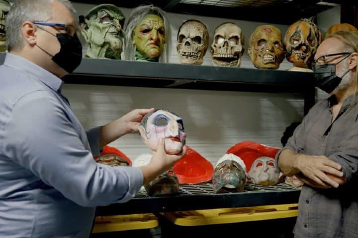 ¿Qué te parecen las máscaras? Están de terror. Foto: Archivo
