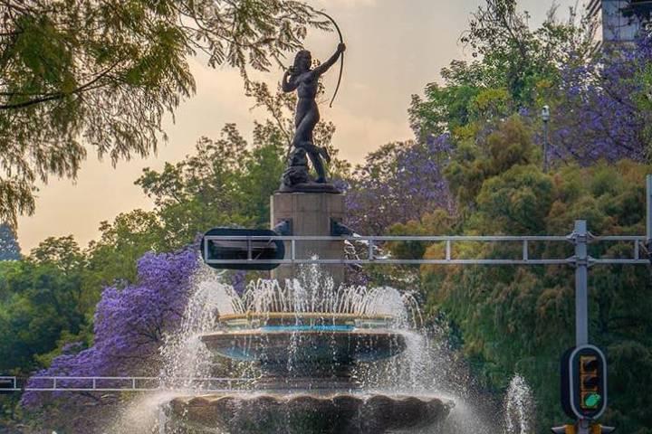 La Diana Cazadora, uno de los monumentos más representativos de México. Foto: _roberttz