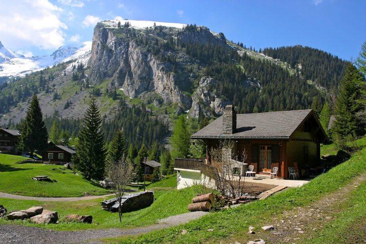 Video de montañas suizas