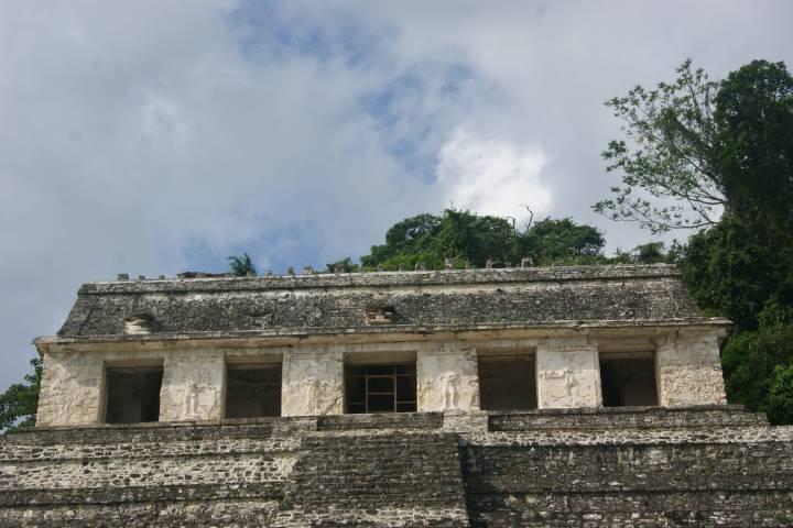 Templo de las inscripciones en Palenque Foto: Pinterest