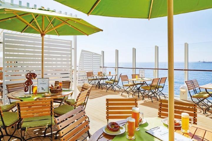 AIDAnova terraza Foto: cruises news